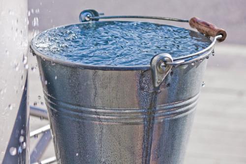ведро воды