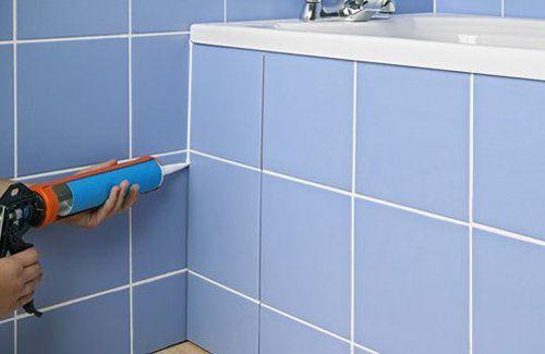 герметизация ванной