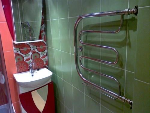 система обогревания в ванной