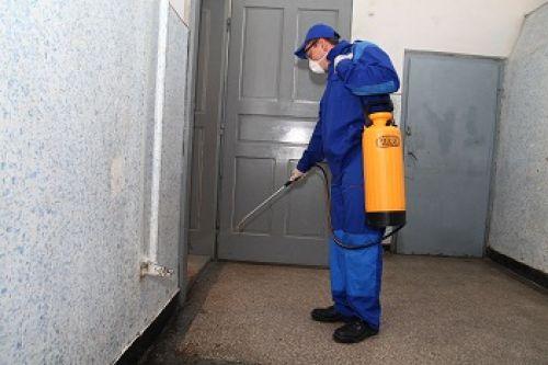 Перед обработкой квартиры химическими средствами следует одеть средства защиты