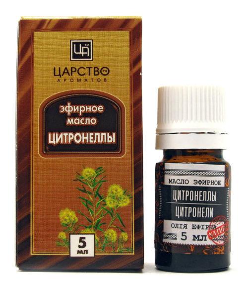 Масло цитронеллы можно добавить в крем для тела и затем им обработать кожу