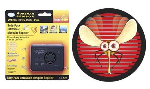 Устройства от комаров выпускают в разных видах