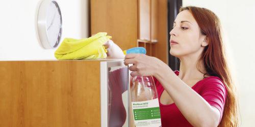 Чтобы предотвратить появления акарид в квартире следует проводить влажную уборку