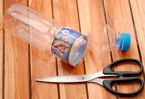 чтобы сделать локушку от ос пригодится бутылка