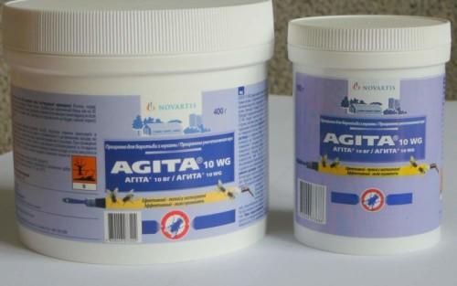 Инсектицидное средство от мух Агита