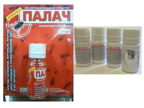 Инсектицид оказывает нервно-паралитическое действие на насекомых