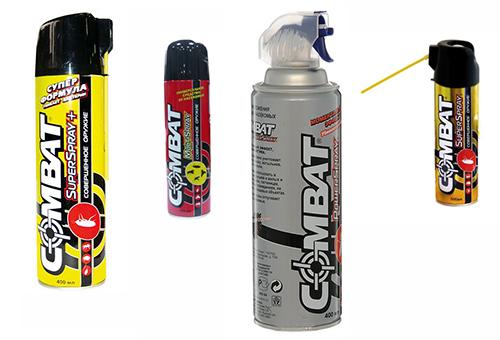 Инсектицидное средство комбат выпускается в виде аэрозолей, ловушек и геля