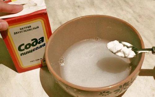 Соду можно использовать различными способами