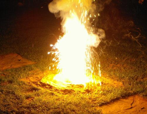 Огонь и горючие смеси